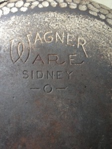 WagnerWare Cast Iron Skillet - 1058