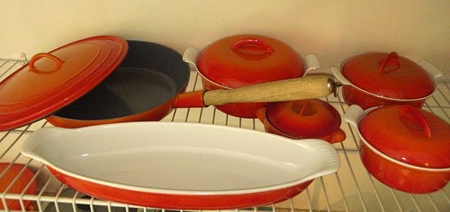 Descoware Enamel Cast Iron Cookware